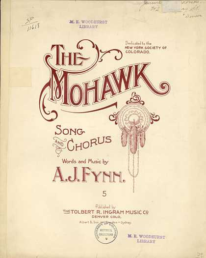 Sheet Music - The Mohawk
