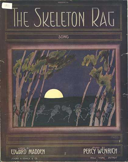 Sheet Music - The skeleton rag