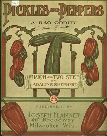 Sheet Music - Pickles and peppers