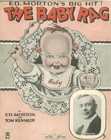 Sheet Music - The baby rag