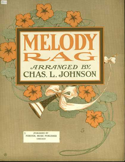 Sheet Music - Melody rag