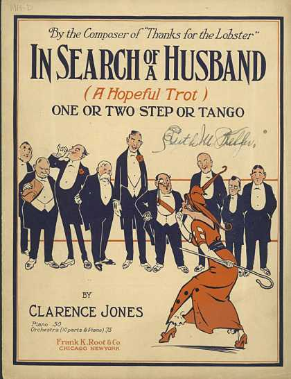 Sheet Music - In search of a husband