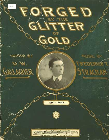Sheet Music - Forged by the glitter of gold