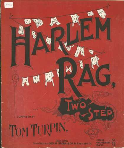 Sheet Music - Harlem rag