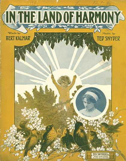 Sheet Music - In the land of harmony