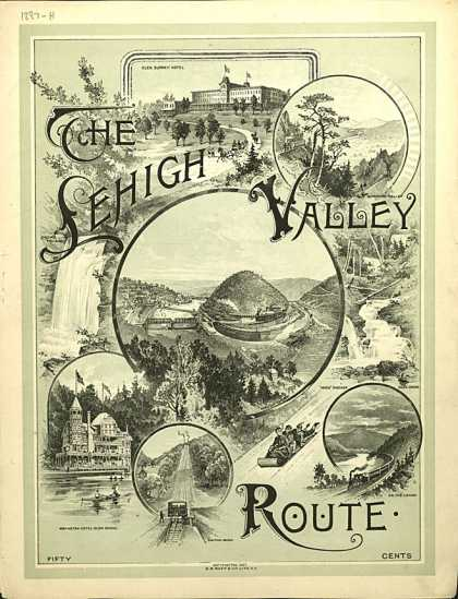 Sheet Music - The Lehigh Valley Route