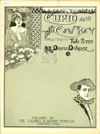 Sheet Music - Cupid and the cowboy