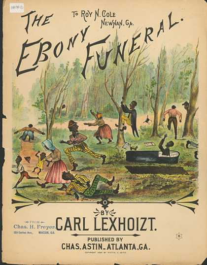 Sheet Music - The ebony funeral