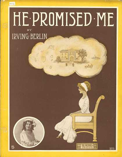Sheet Music - He promised me