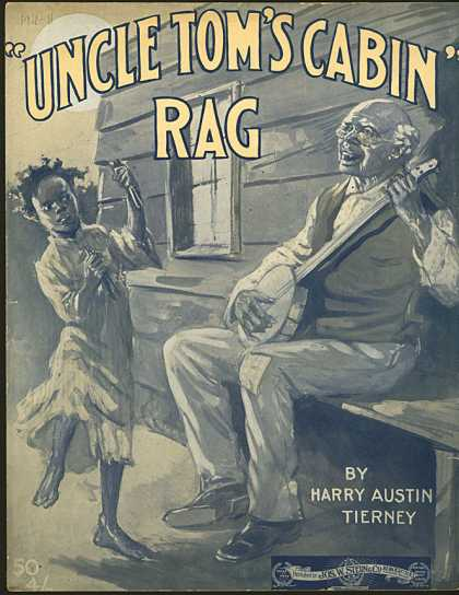 Sheet Music - Uncle Tom's cabin rag