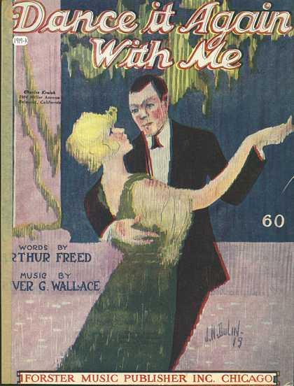 Sheet Music - Dance it again with me