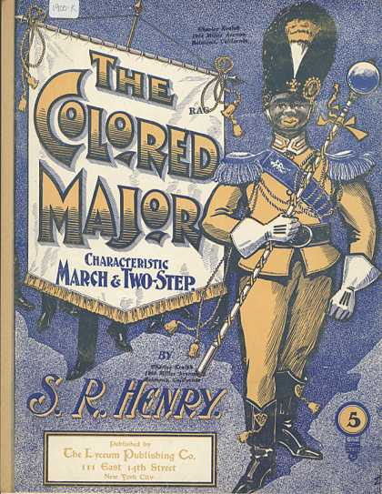 Sheet Music - The colored major