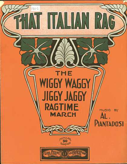 Sheet Music - That Italian rag