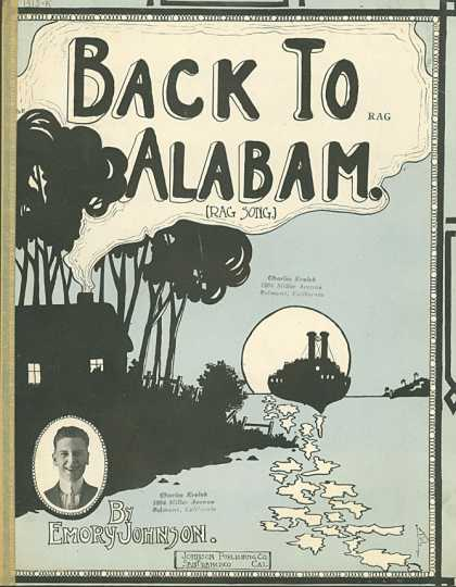 Sheet Music - Back to Alabam