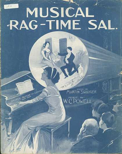 Sheet Music - Musical ragtime Sal