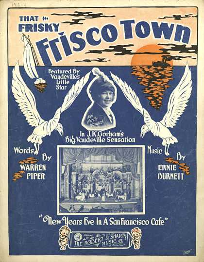 Sheet Music - That frisky Frisco town