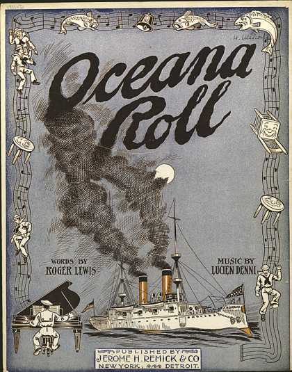 Sheet Music - The oceana roll