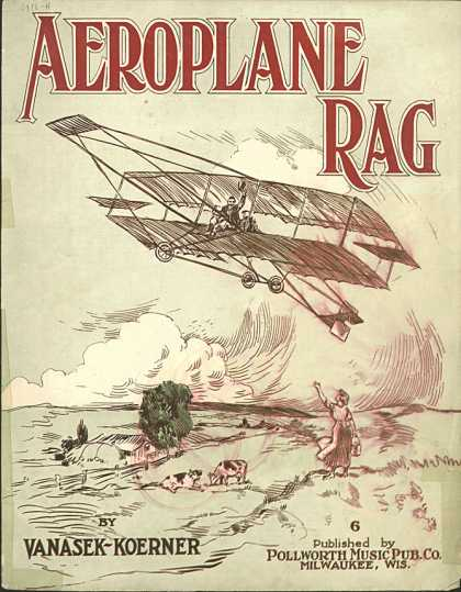 Sheet Music - Aeroplane rag
