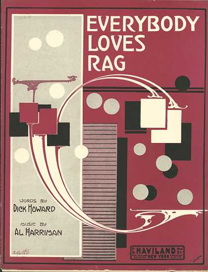 Sheet Music - Everybody loves rag