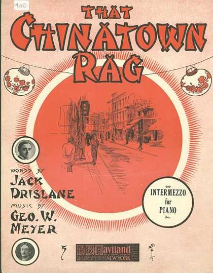 Sheet Music - The Chinatown rag