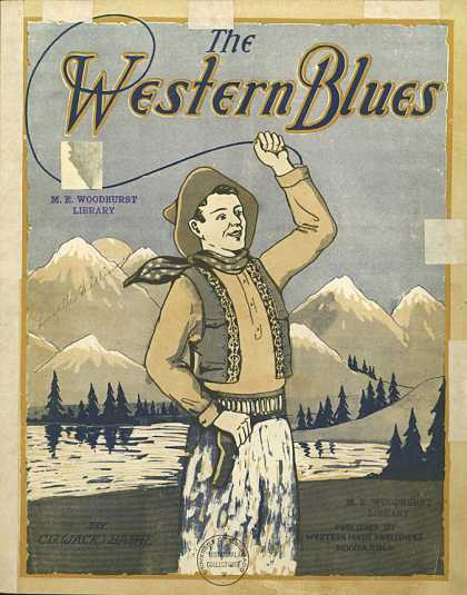 Sheet Music - The western blues