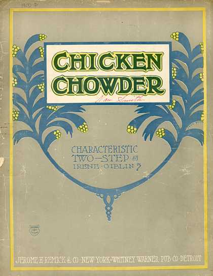 Sheet Music - Chicken chowder