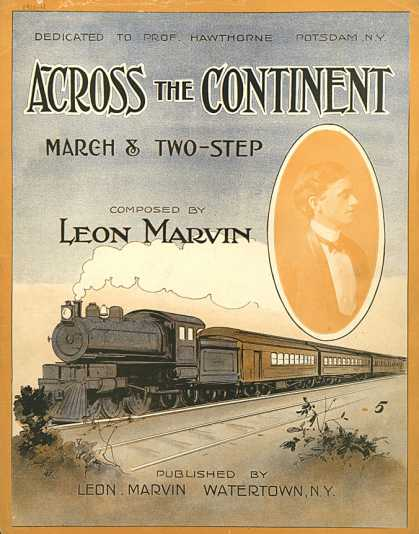 Sheet Music - Across the continent