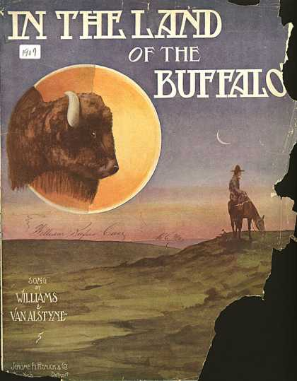 Sheet Music - In the land of the buffalo