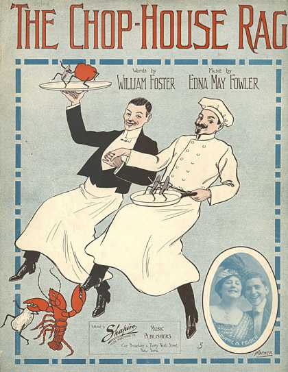 Sheet Music - The chop-house rag