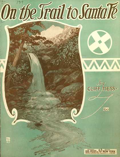 Sheet Music - On the trail to Santa Fe