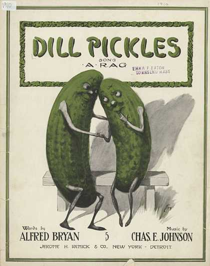 Sheet Music - Dill pickles