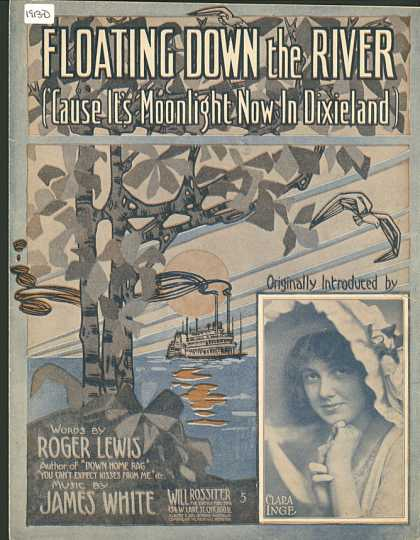 Sheet Music - Floating down the river