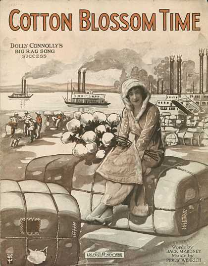 Sheet Music - Cotton blossom time