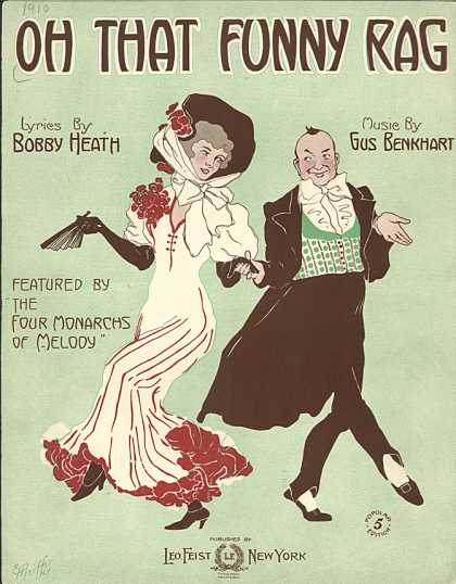 Sheet Music - Oh! That funny rag
