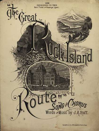 Sheet Music - The Great Rock Island Route