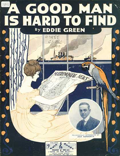 Sheet Music - A good man is hard to find