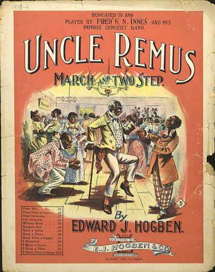 Sheet Music - Uncle Remus