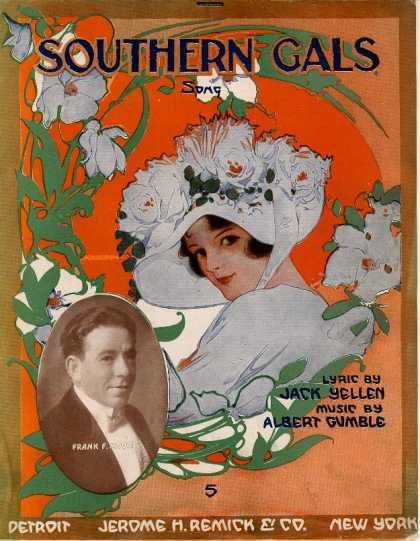 Sheet Music - Southern gals