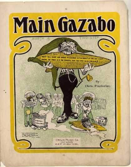 Sheet Music - Main gazabo
