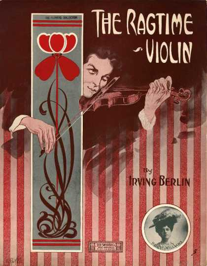 Sheet Music - Ragtime violin