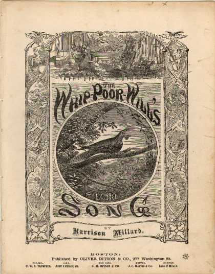 Sheet Music - Whip-poor-will's song