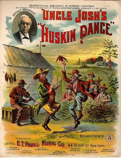 Sheet Music - Uncle Josh's huskin dance