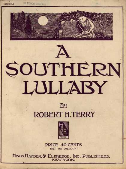 Sheet Music - A southern lullaby