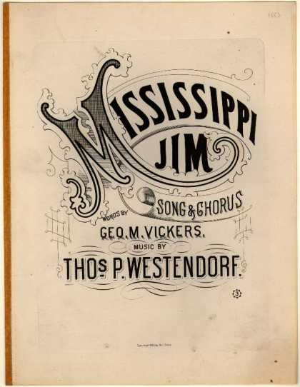 Sheet Music - Mississippi Jim