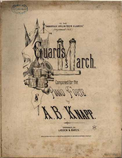 Sheet Music - Guards march
