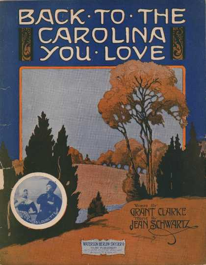 Sheet Music - Back to the Carolina you love