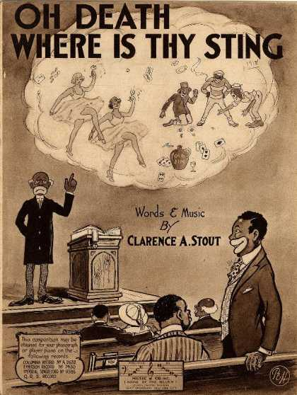 Sheet Music - Oh death where is thy sting