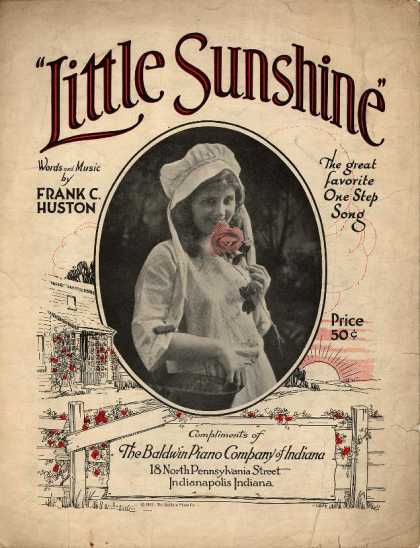 Sheet Music - Little sunshine