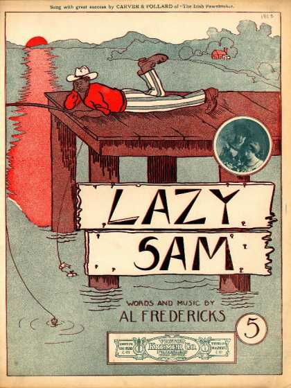 Sheet Music - Lazy Sam