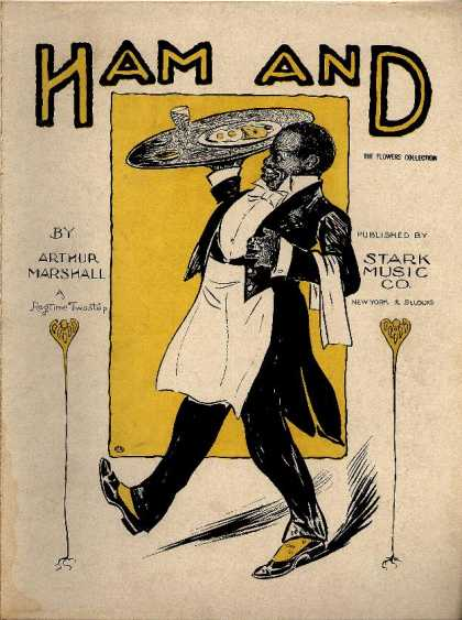 Sheet Music - Ham and!; In ragtime